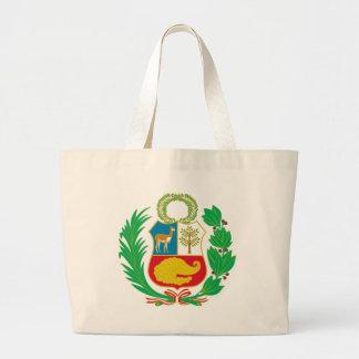 Peru - Escudo Nacional (National Emblem) Large Tote Bag