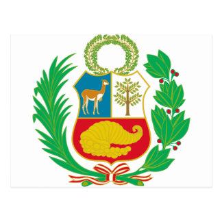Peru - Escudo Nacional (National Emblem) Postcard