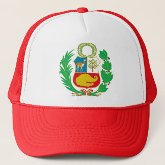 Peru - Escudo Nacional (National Emblem) Trucker Hat