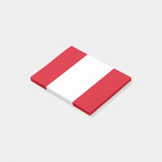 Peru Flag Post-it Notes