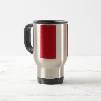 Peru Flag Travel Mug