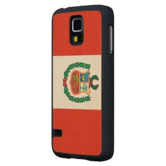 Peru Flag Maple Galaxy S5 Case