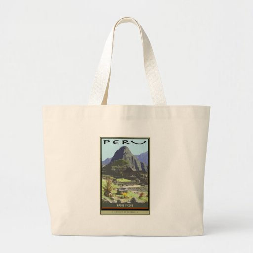 Peru Jumbo Tote Bag