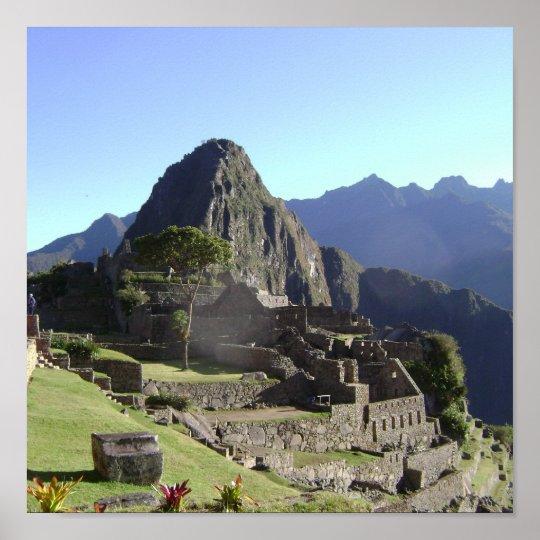 Peru/Machu Picchu Poster