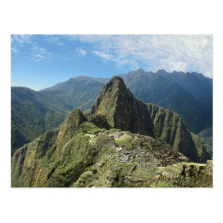 Peru, Machu Picchu, the ancient lost city of 3 Postcard