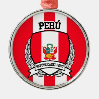 Peru Metal Ornament