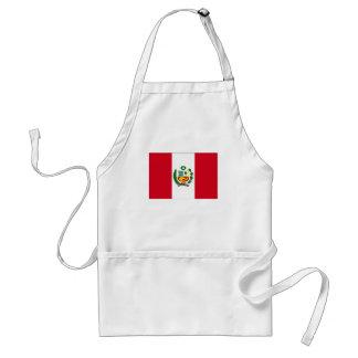 Peru National Flag Adult Apron