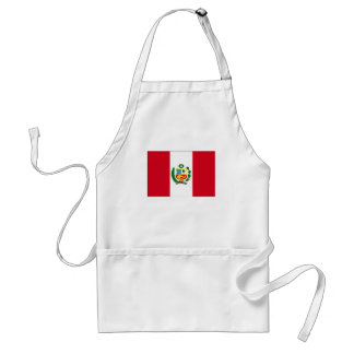 Peru National Flag Standard Apron