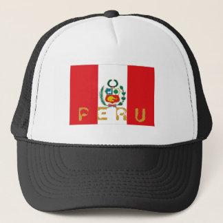 Peru peruvian flag souvenir hat