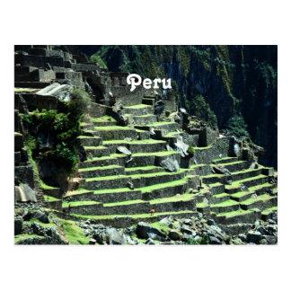 Peru Ruins Postcard