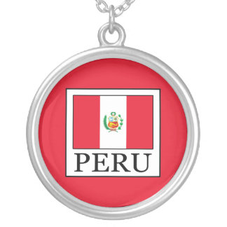 Peru Silver Plated Necklace