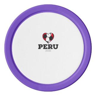 Peru Soccer Shirt 2016 Poker Chips Set