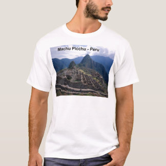 Peru The Ruins of Machu Picchu (St.K.) T-Shirt