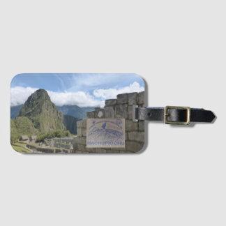 Peru Travel Destonation Luggage Tag