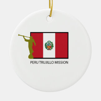 PERU TRUJILLO MISSION LDS CTR CERAMIC ORNAMENT
