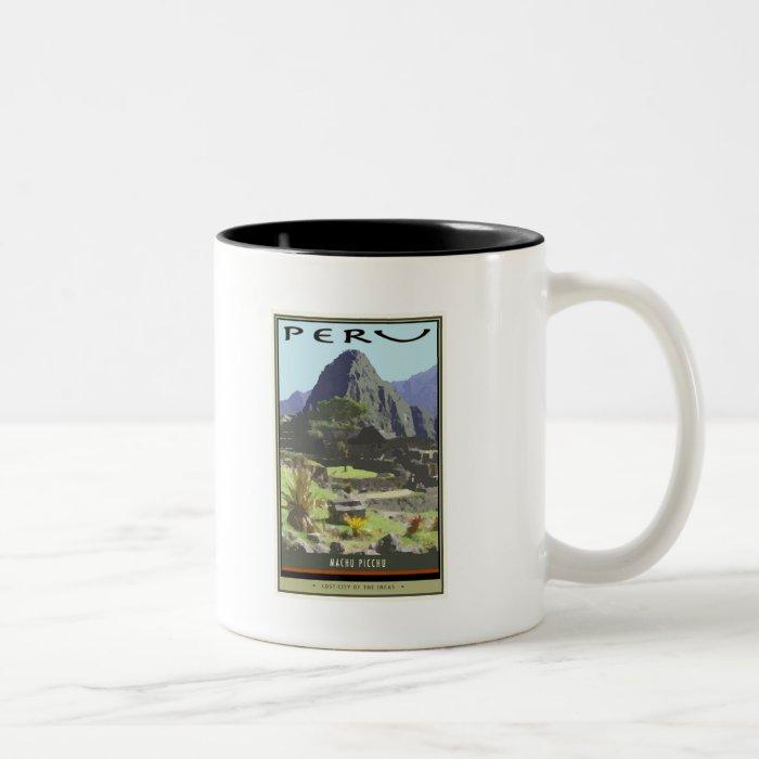 Peru Two-Tone Coffee Mug