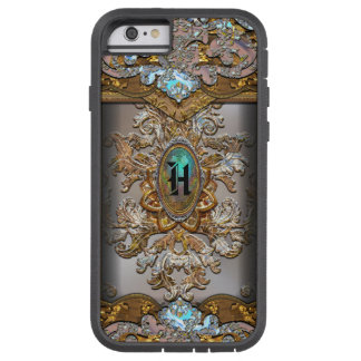 Perucho French Girly Monogram Protective Tough Xtreme iPhone 6 Case