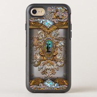 Perucho Girly French Monogram OtterBox Symmetry iPhone 7 Case