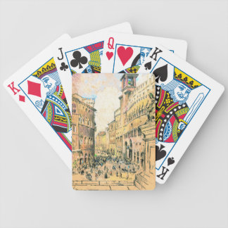 Perugia 1904 bicycle playing cards