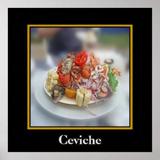Peruvian Ceviche Poster