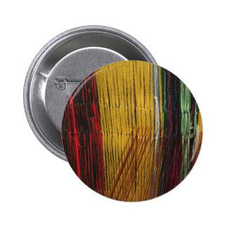 Peruvian colors 2 inch round button