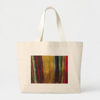 Peruvian colors large tote bag