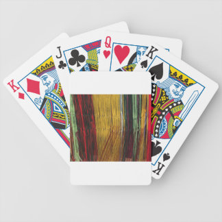 Peruvian colors poker deck