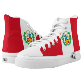 Peruvian Flag High Tops