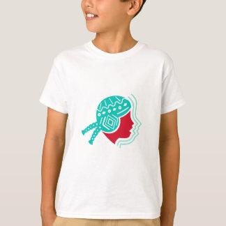Peruvian Girl Hat Side Icon T-Shirt