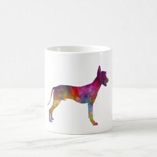 Peruvian Hairless Dog in watercolor Coffee Mug