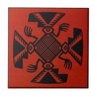 Peruvian Inca Bird Tile