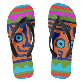 Peruvian Inca Summer Flip Flops
