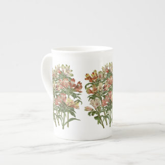 Peruvian Lilies Botanical Bone China Mug