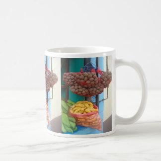 Peruvian Market on the Corner - Mercado Favorite Coffee Mug