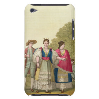 Peruvian Men and Women in Traditional Costume col iPod Touch Cover