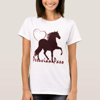 Peruvian Paso Horse Hearts T-Shirt