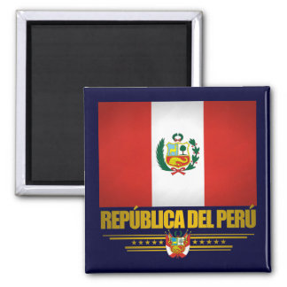"""Peruvian Pride"" Magnet"