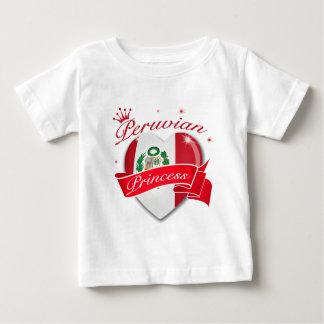 Peruvian Princess Baby T-Shirt