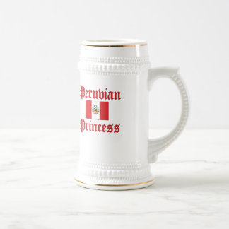 Peruvian Princess Beer Stein