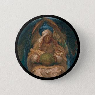 Pervading Spirit Angel 2 Inch Round Button