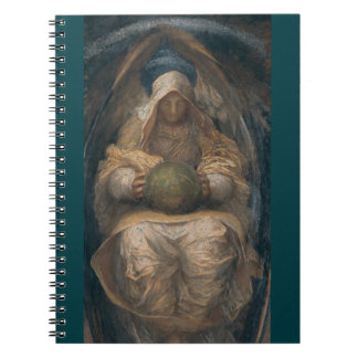 Pervading Spirit Angel Spiral Notebooks