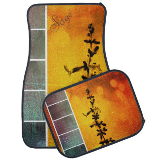 Pervoskia Collage Aflame Car Mats *Personalize* Car Floor Carpet