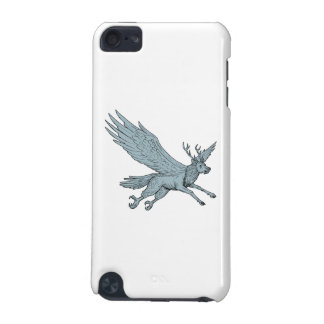 Peryton Flying Side Drawing iPod Touch (5th Generation) Cover