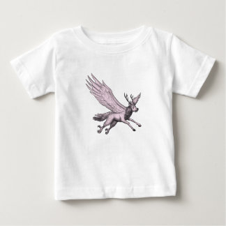 Peryton Flying Side Tattoo Baby T-Shirt