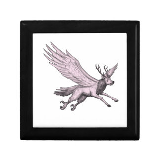 Peryton Flying Side Tattoo Gift Box
