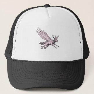 Peryton Flying Side Tattoo Trucker Hat
