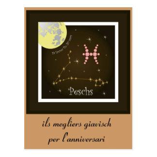 Peschs 19 more favrer fin 20 Mars postcard