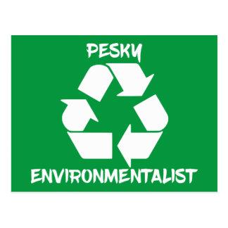 Pesky Environmentailist Postcard
