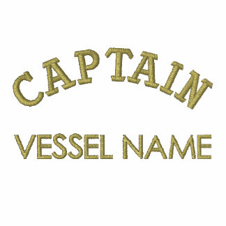 Pesonalised Boat Name Captain Hoodie