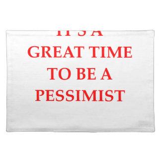 PESSIMIST PLACEMATS